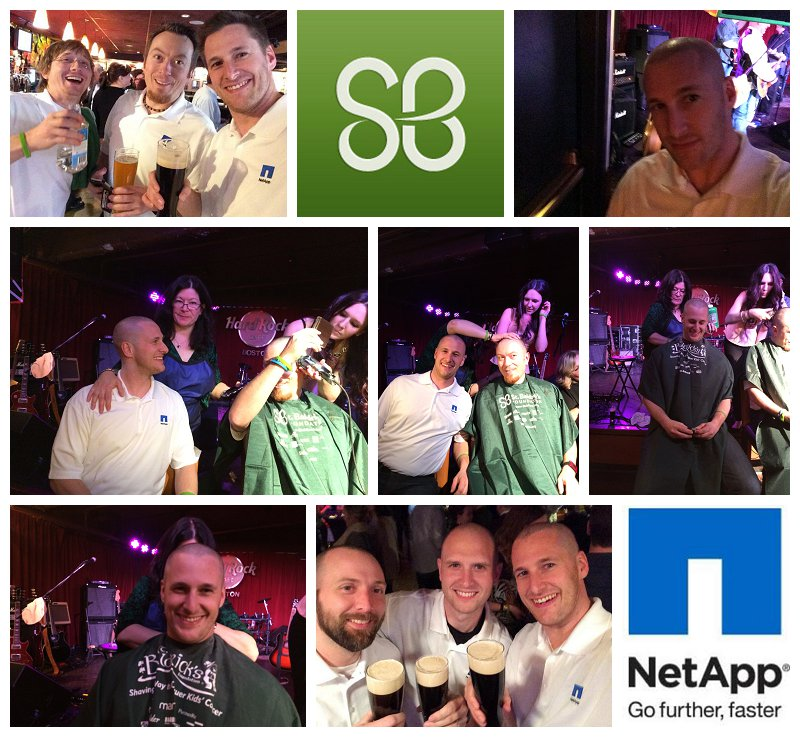 St. Baldricks NetApp Boston Event